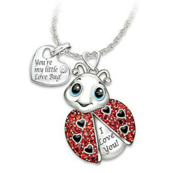 NWOT Brand New Little Love Bug Necklace Jewelry - NWOT Brand New Little Love Bug Necklace